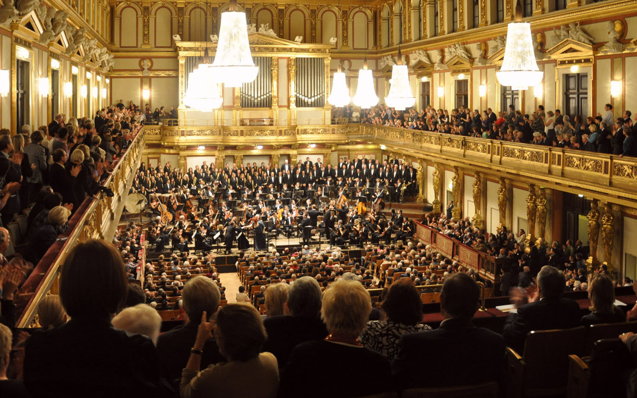 Musikverein Wien, goldener Saal