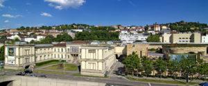 Blick auf die Staatsgalerie Stuttgart