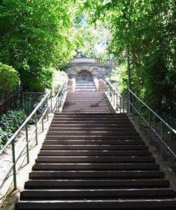 Eugenstaffel (Treppe) in Stuttgart