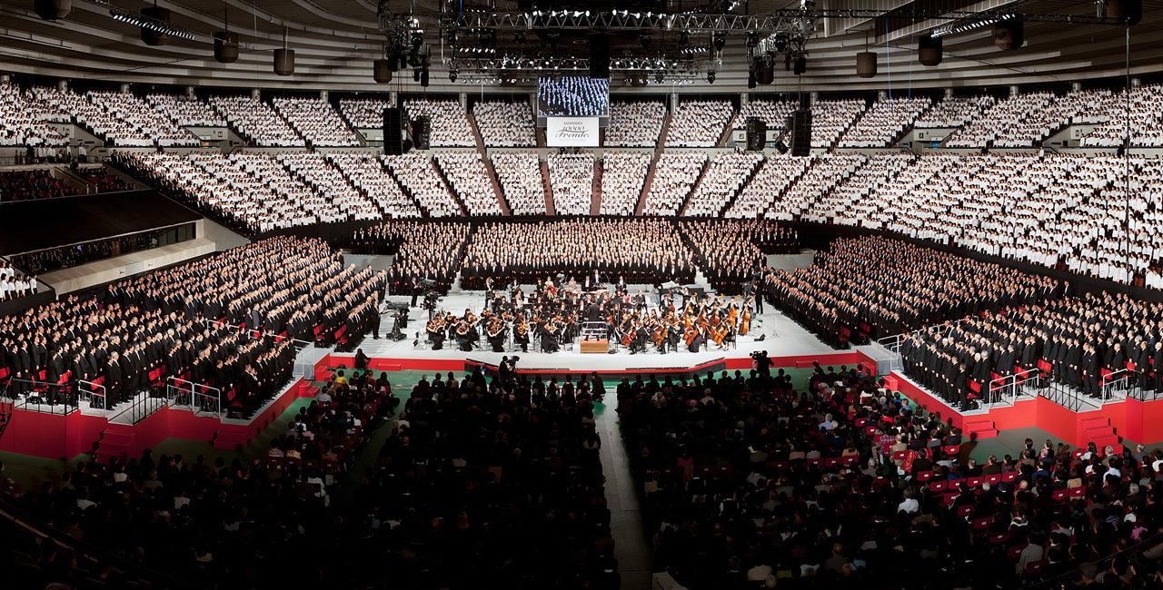 Beethovens Neunte Sinfonie mit dem WDR Sinfonieorchester und 10.000 Sängern in Osaka