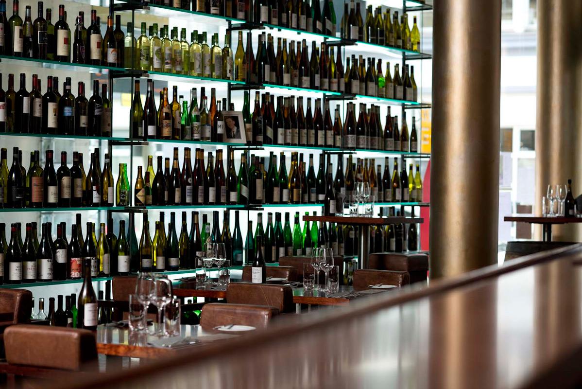 Weinbar im Rutz