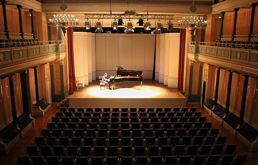Kit Armstrong, Anspielprobe im Konzerthaus Berlin