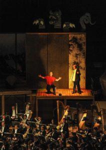 """Halbszenische Aufführung von Wagners """"Rheingold"""" in der Suntory Hall"""