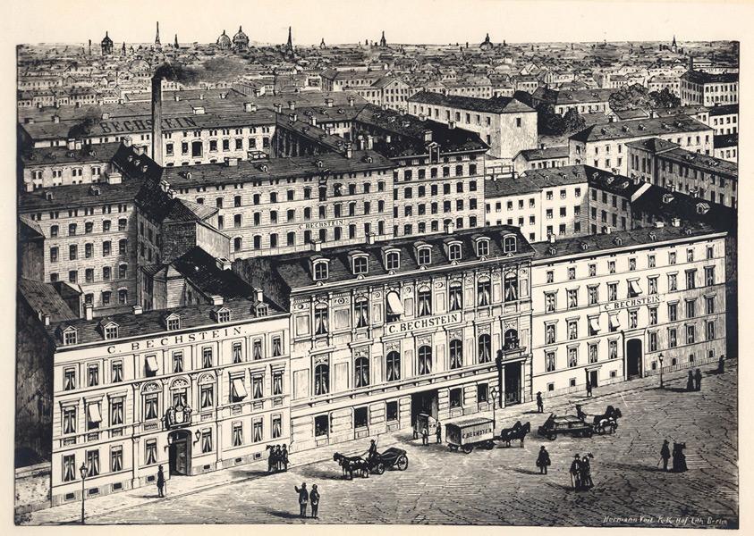 Die Bechstein-Fabrik 1872