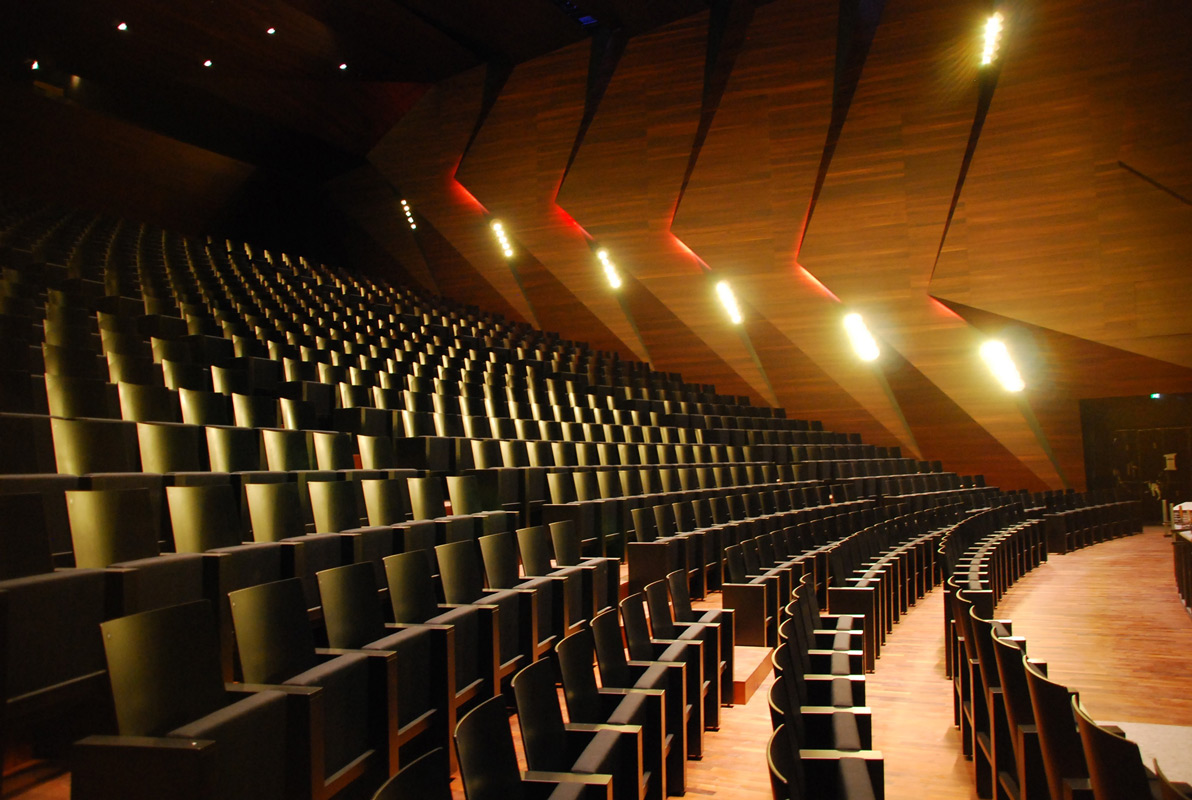 Konzertsaal im Festspielhaus Erl