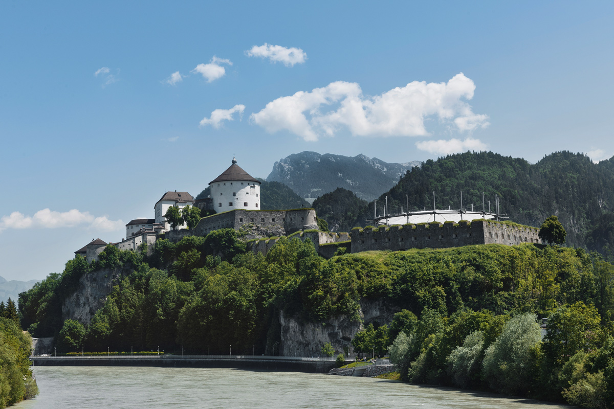 Festung Kufstein und Inn
