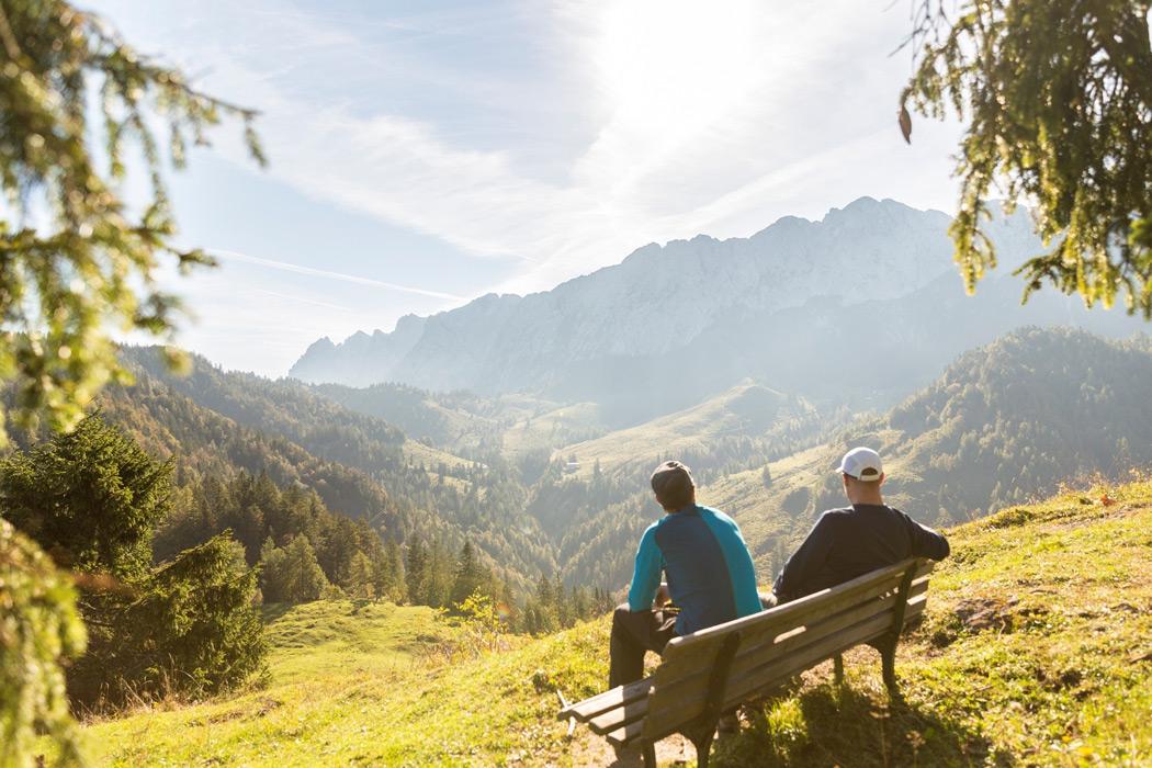 Wanderer im Kaisergebirge