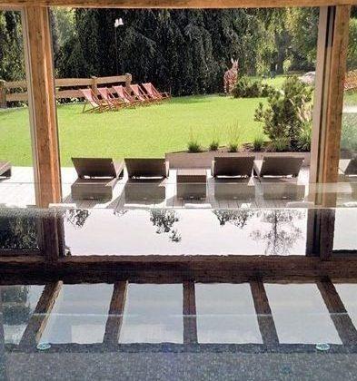 Pool und Wintergarten im Kitzhof