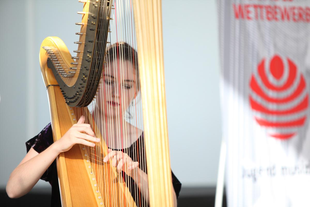 Wertungsspiel Harfe