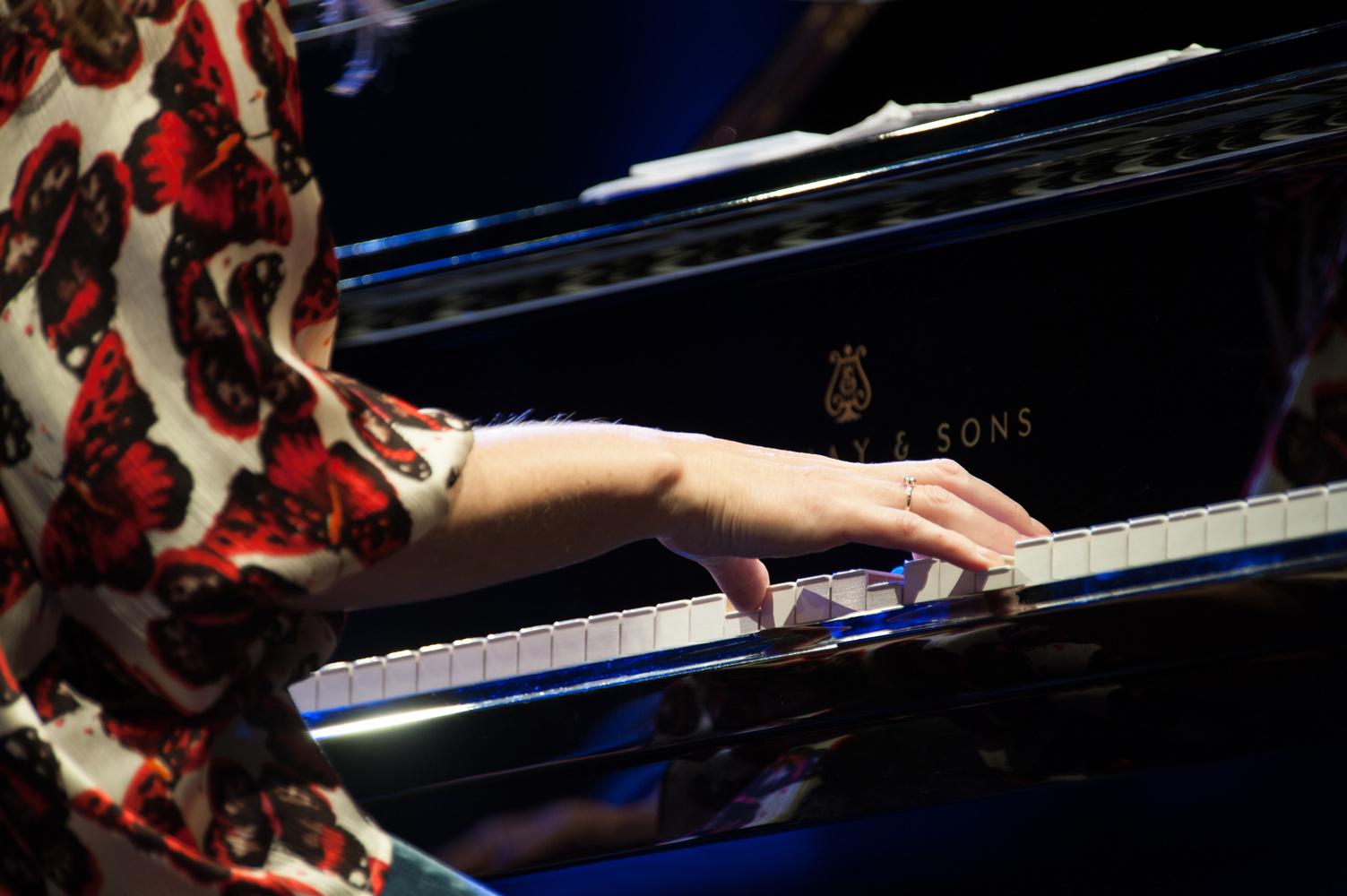 Klaviermusik bei einem Event