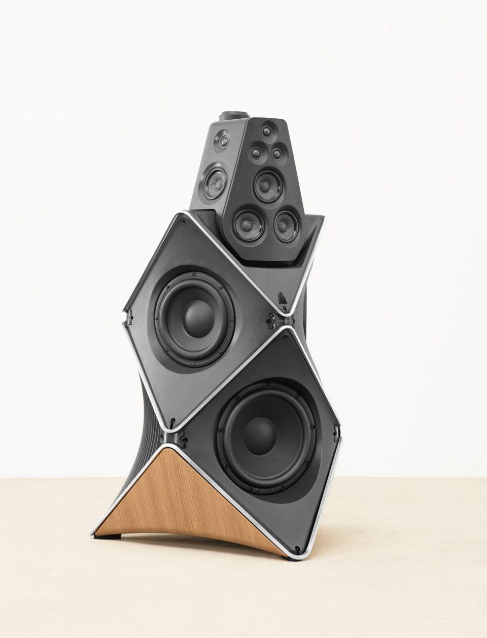 BeoLab 90, Lautsprecher ohne Verkleidung
