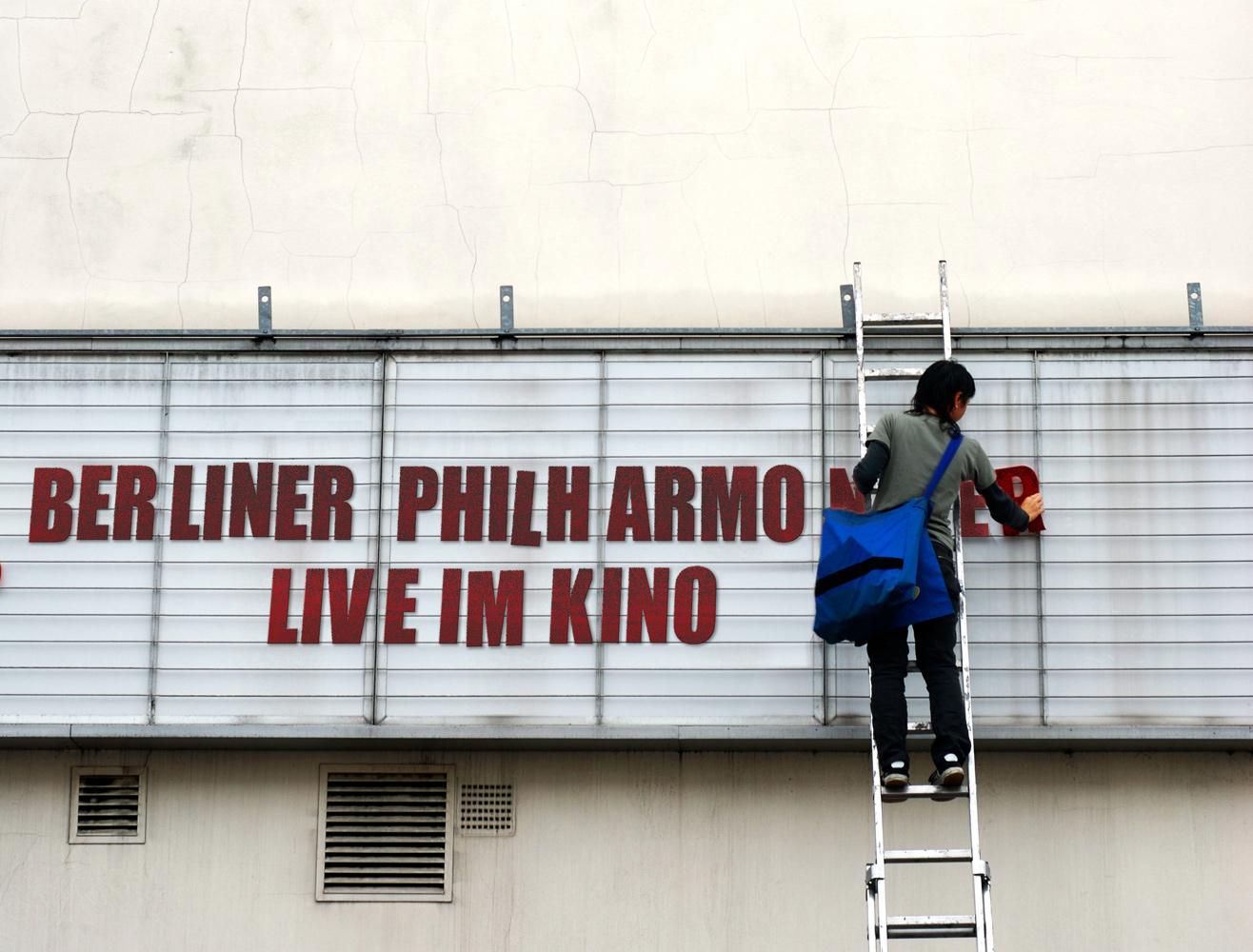 Berliner Philharmoniker live im Kino