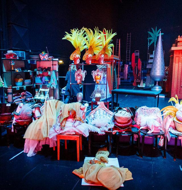 Exklusiver Blick hinter die Kulissen des Disney Musicals ALADDIN im Stage Theater Neue Flora in Hamburg