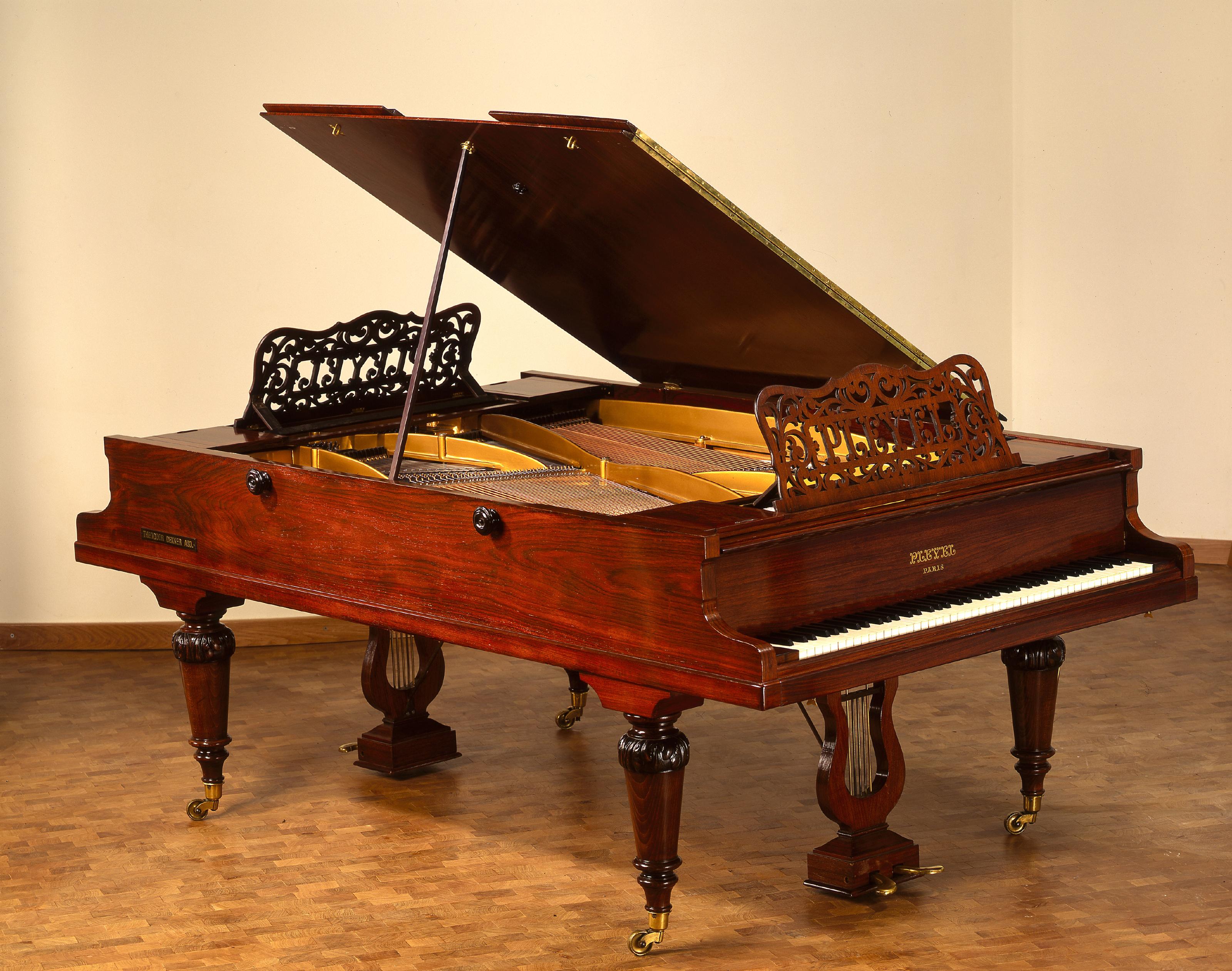 Doppelflügel von Pleyel, Wolff & Cie, Paris, 1898