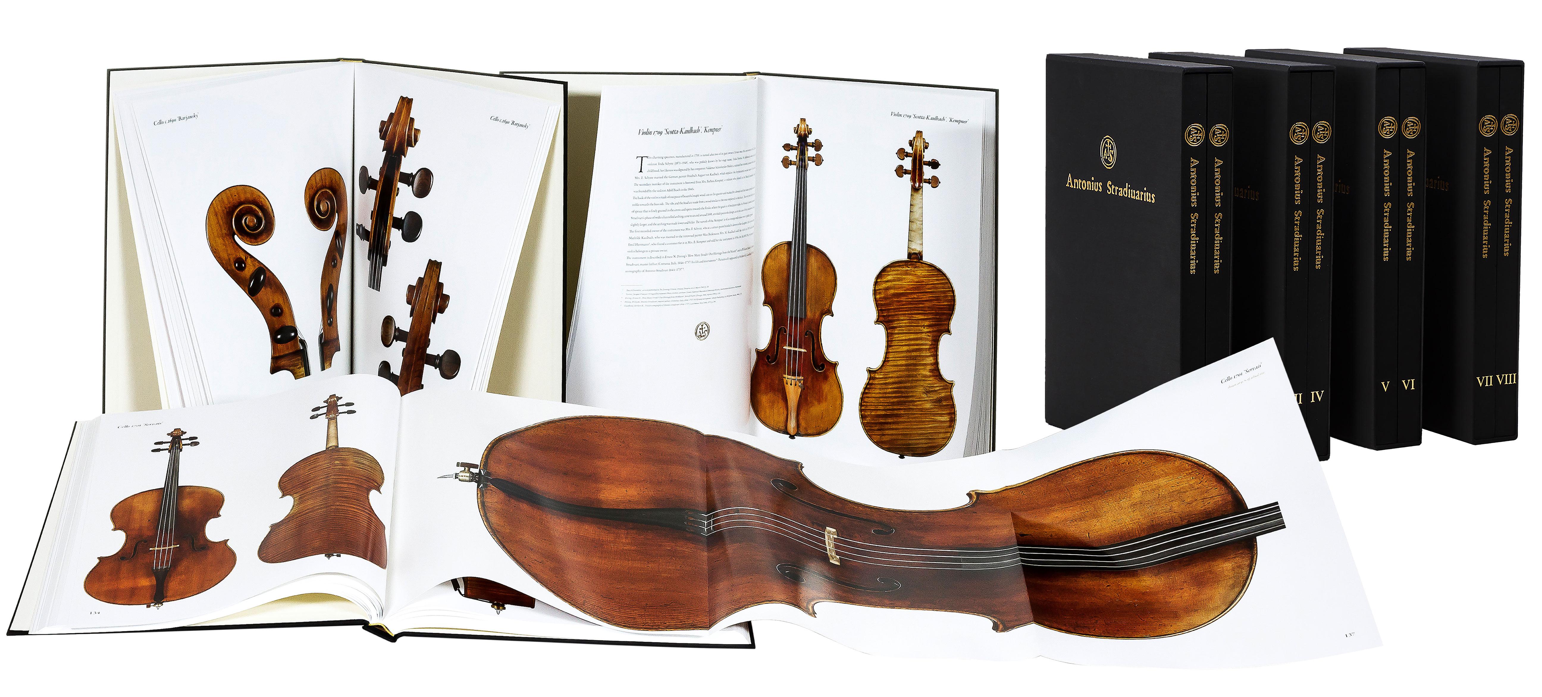 """Antonio Stradivari"", Band I-VIII"
