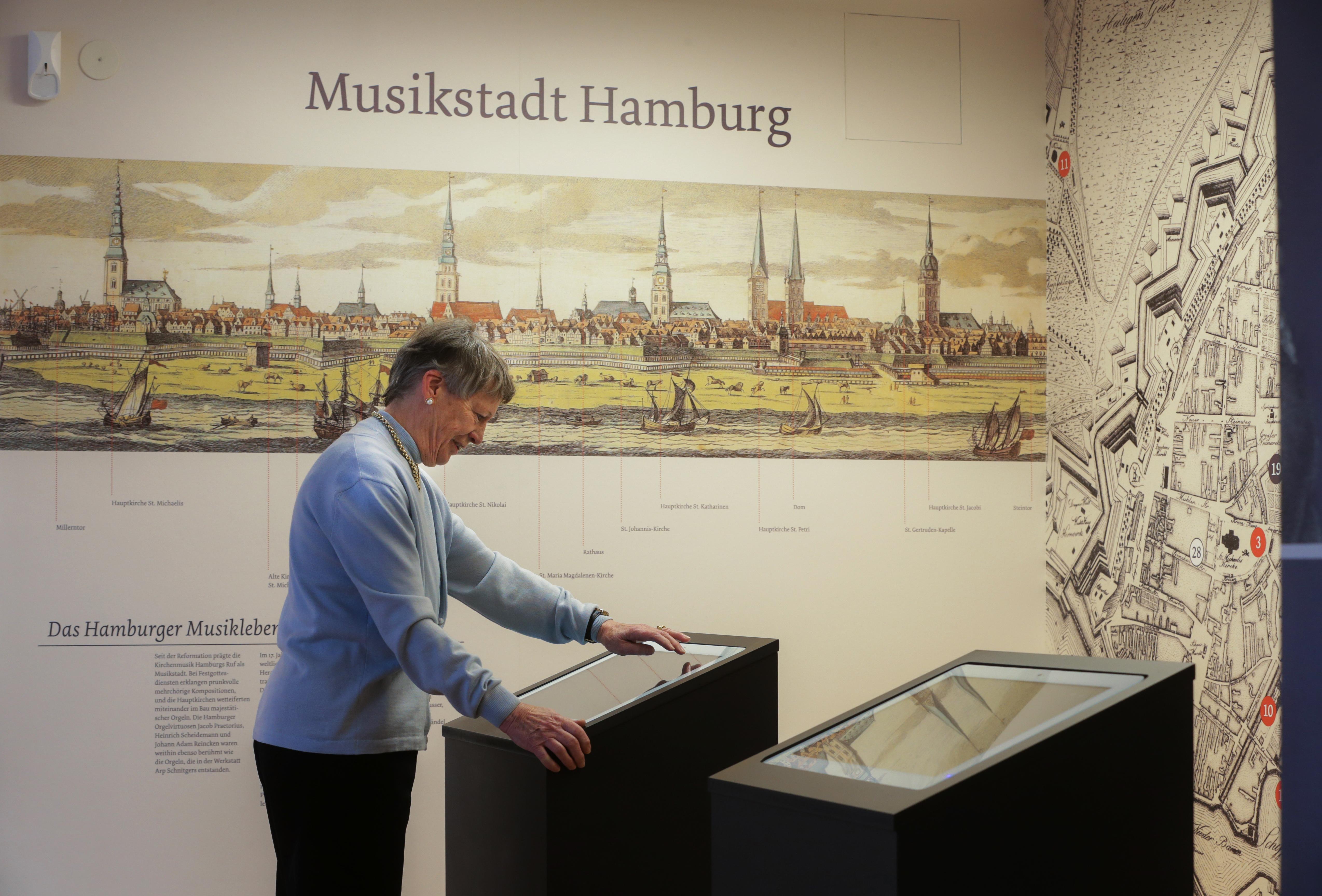 Medienstation im KomponistenQuartier Hamburg