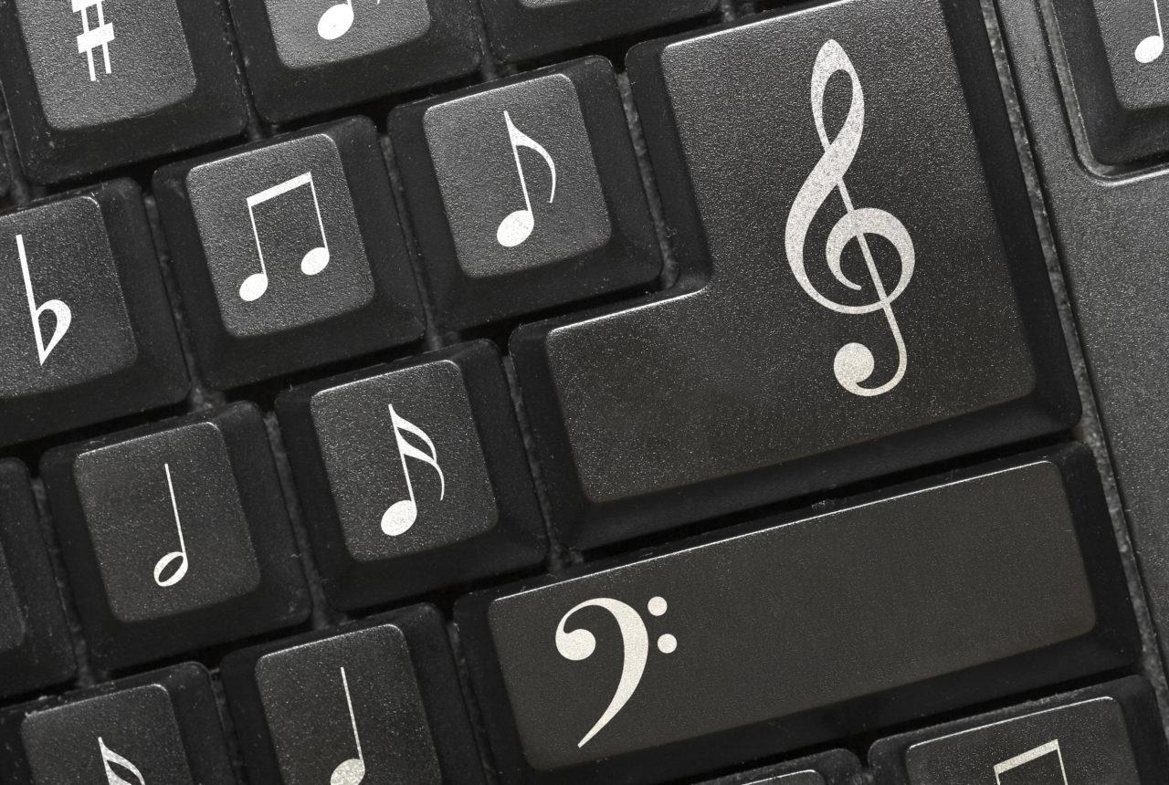 Musik-Tastatur