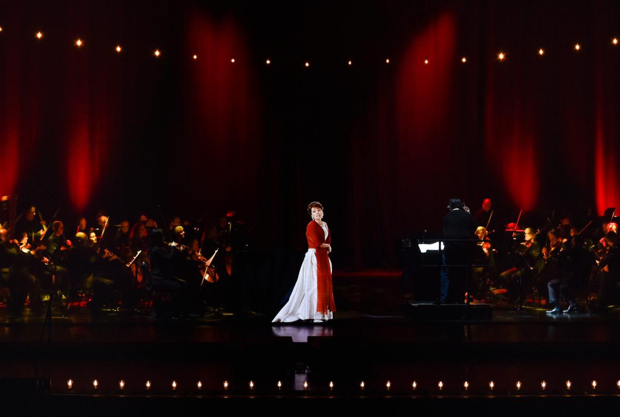 Maria Callas im Hologramm