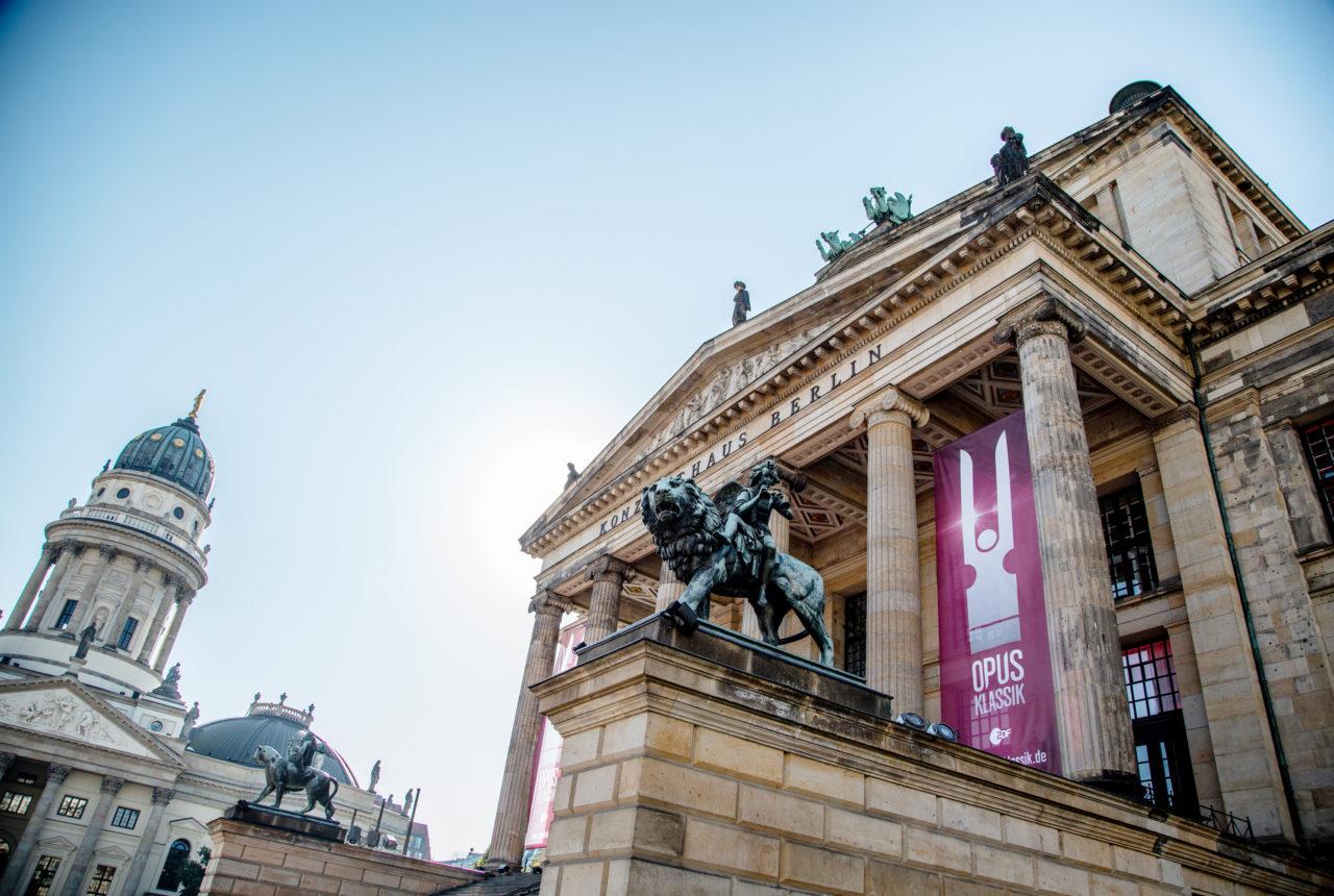 OPUS Klassik. Die Gala zur Preisverleihung fand im Konzerthaus Berlin statt