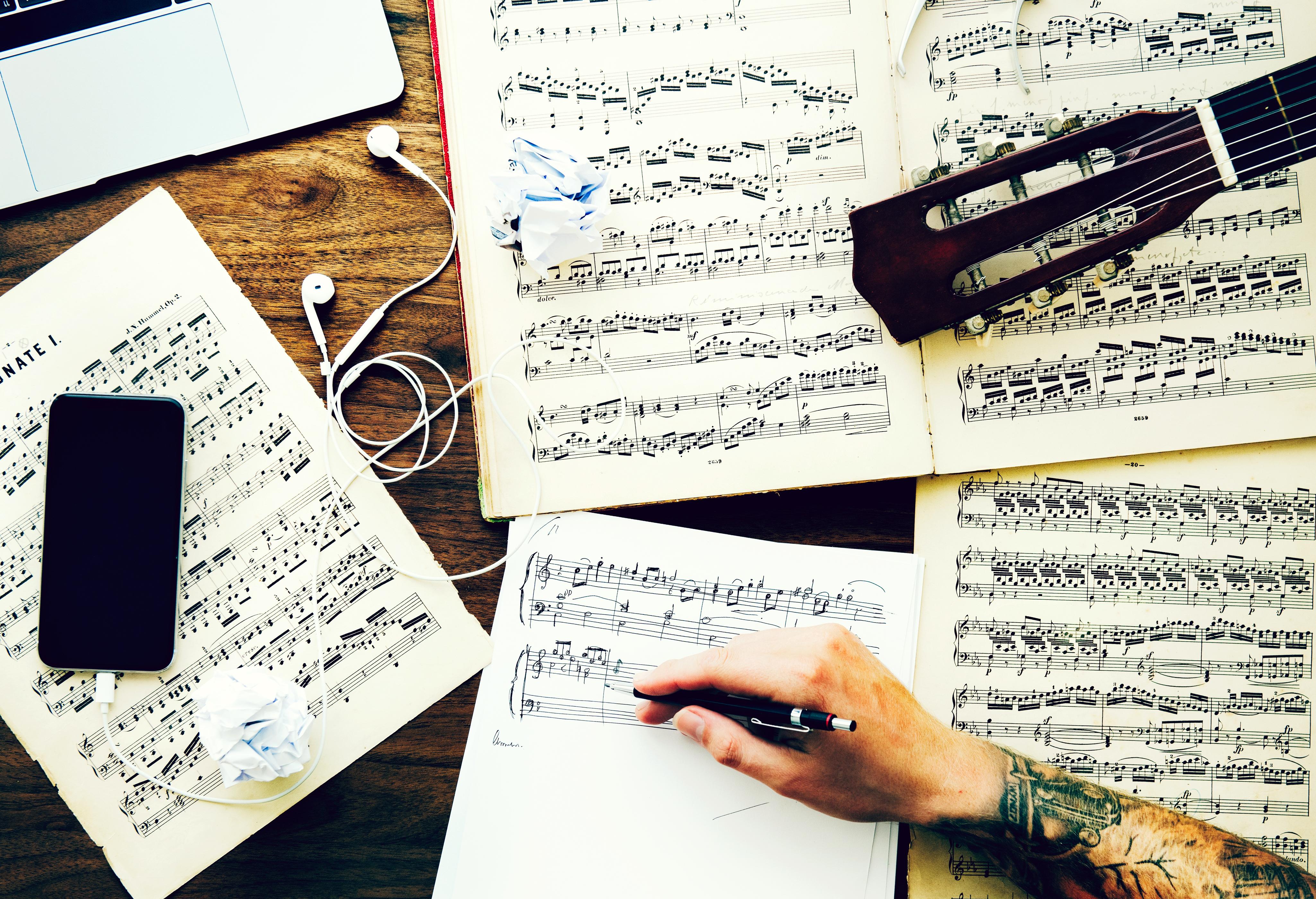 Gern genommen: Klassische Werke als Ideenvorlage für einen Popsong (Symbolbild)
