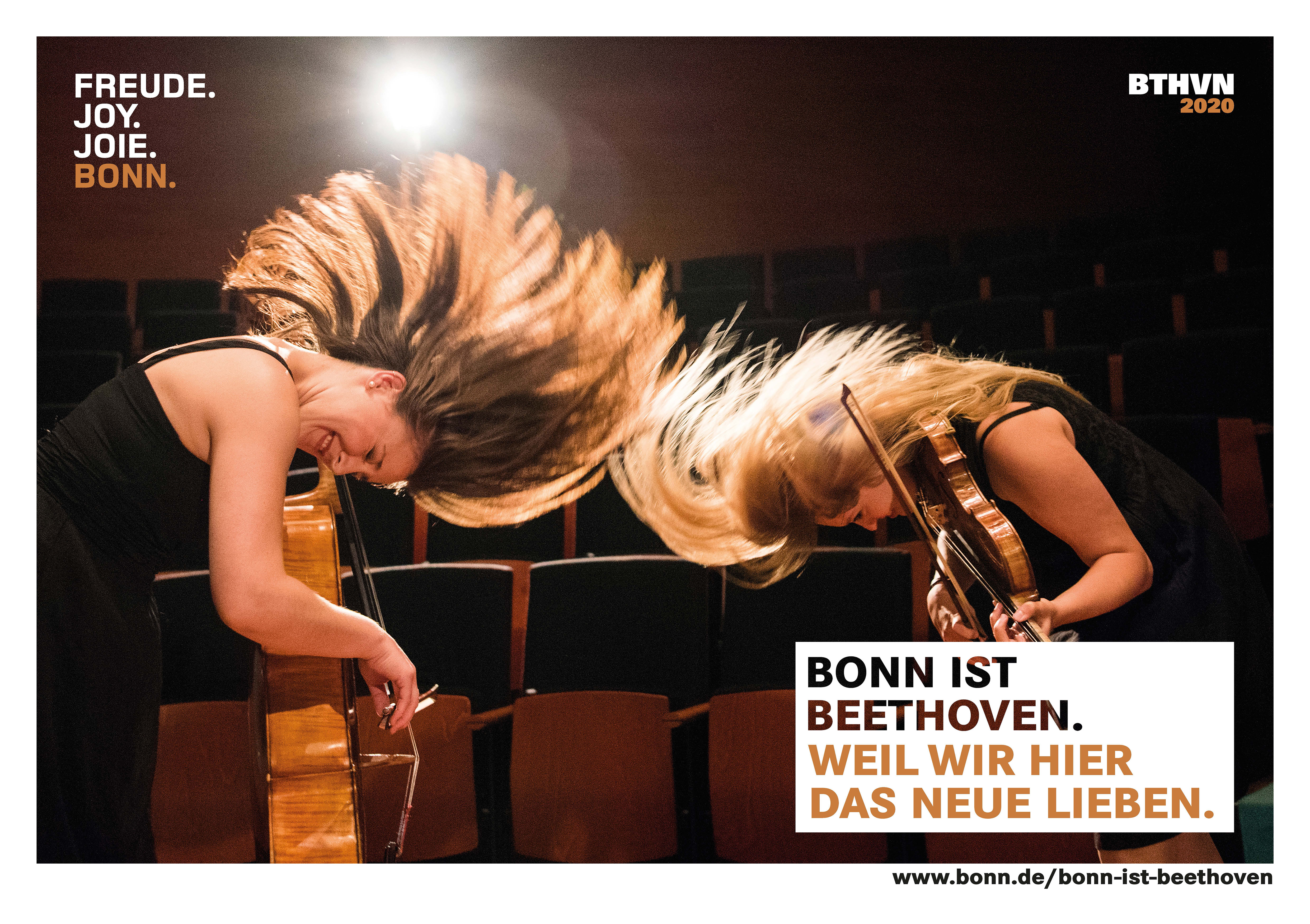 "Marketing-Motiv ""Bonn ist Beethoven"""