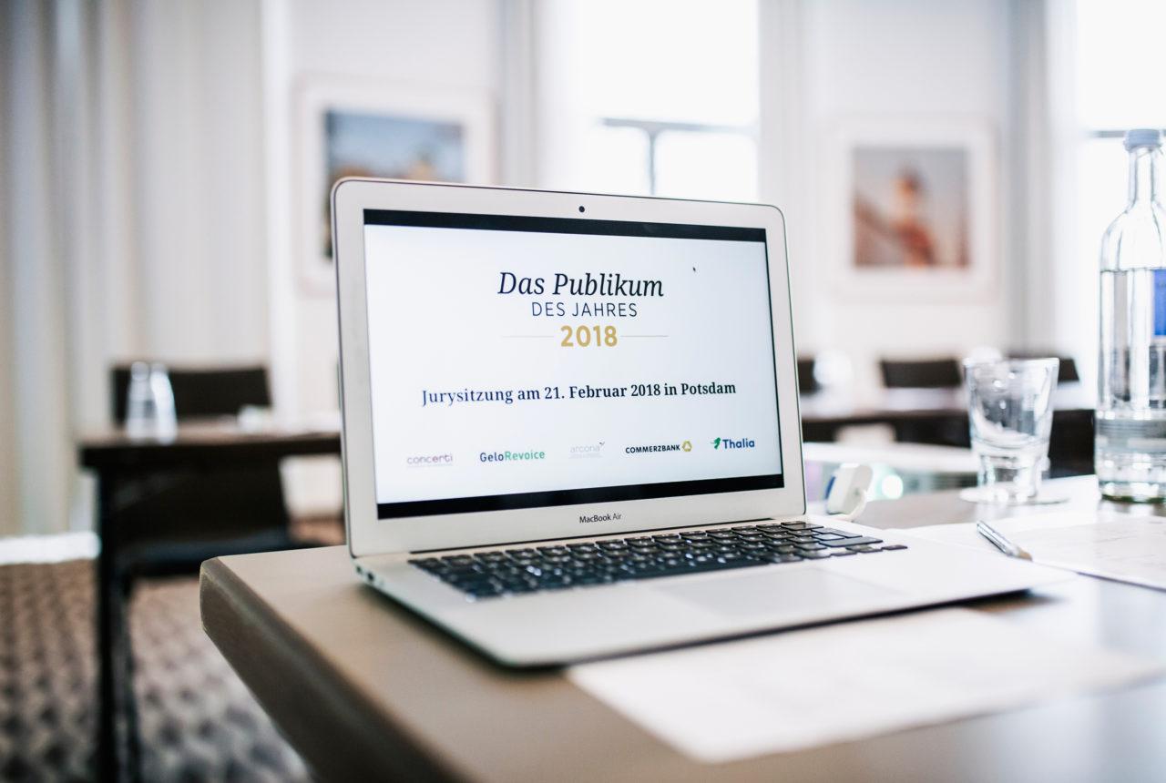 """Wahl zum """"Publikum des Jahres 2018"""". Jurysitzung"""