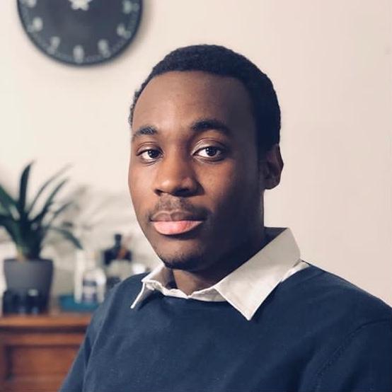 Der junge Komponist Chrisna Lungala