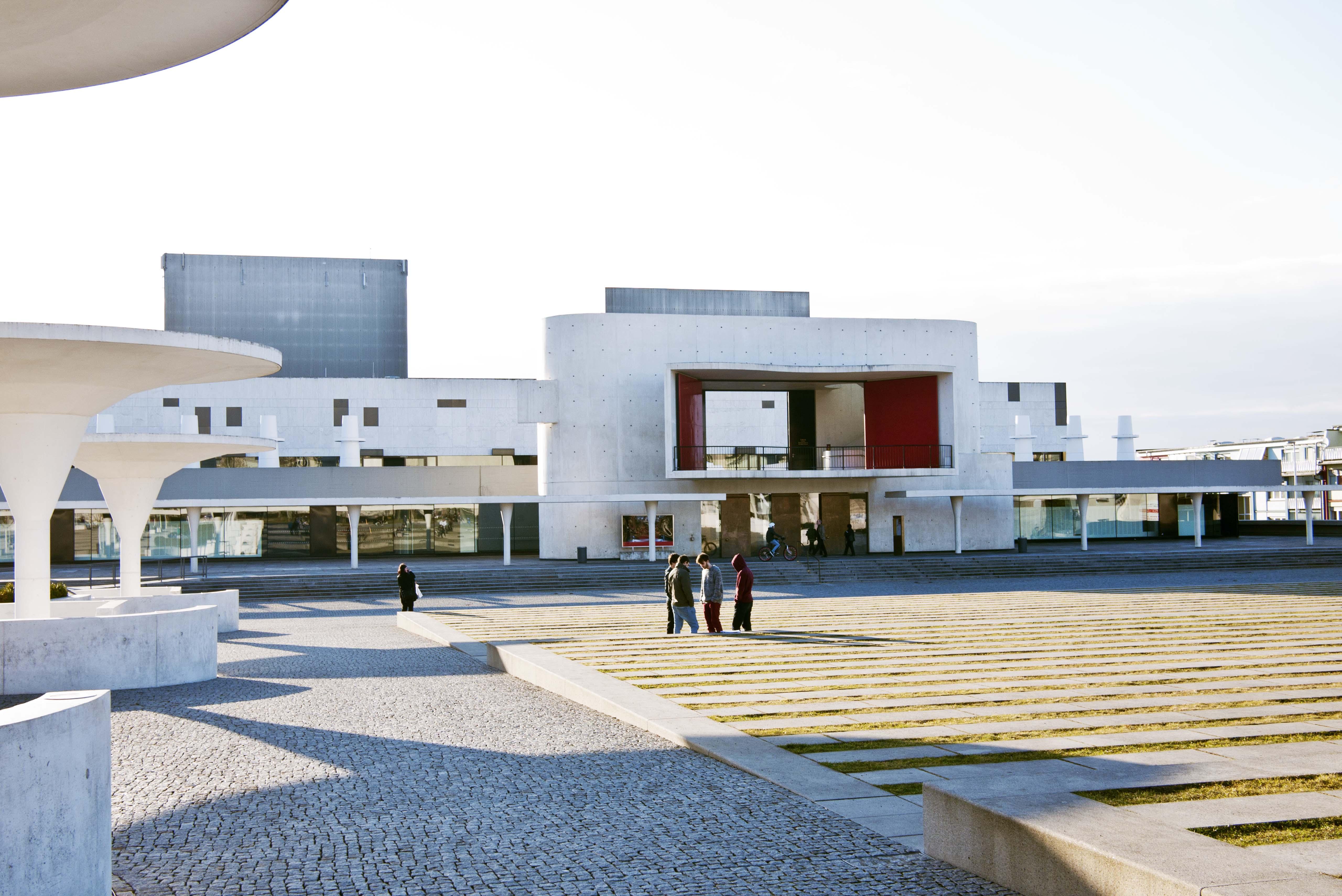 Das Staatstheater Darmstadt