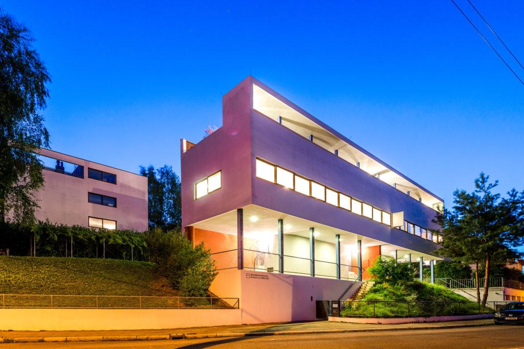 Das Haus Le Corbusier in der Weißenhofsiedlung Stuttgart ist heute ein Museum
