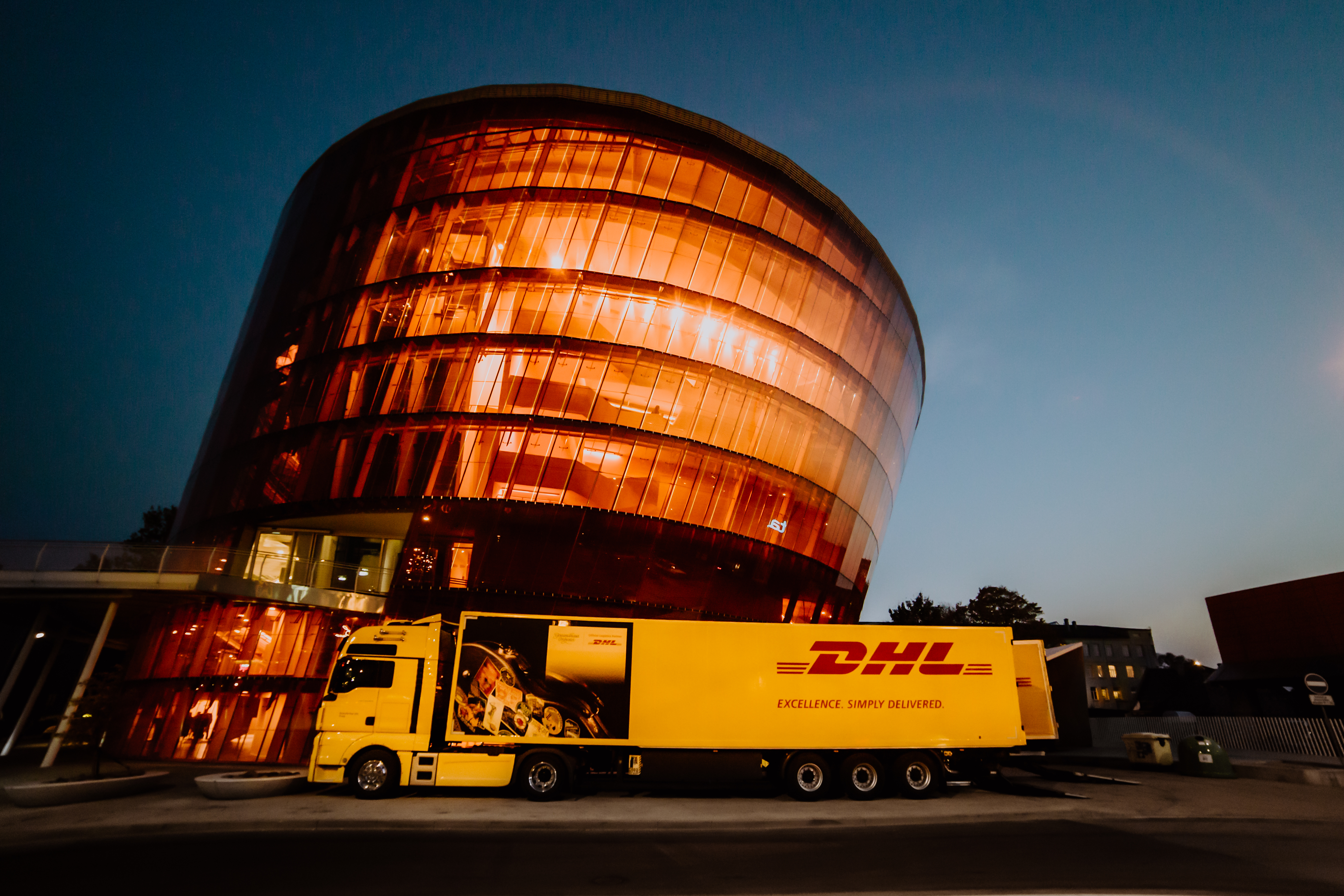 Offizieler Logistikpartner des Gewandhausorchesters: DHL Trade Fairs & Events (Photo by DHL Trade Fairs & Events)
