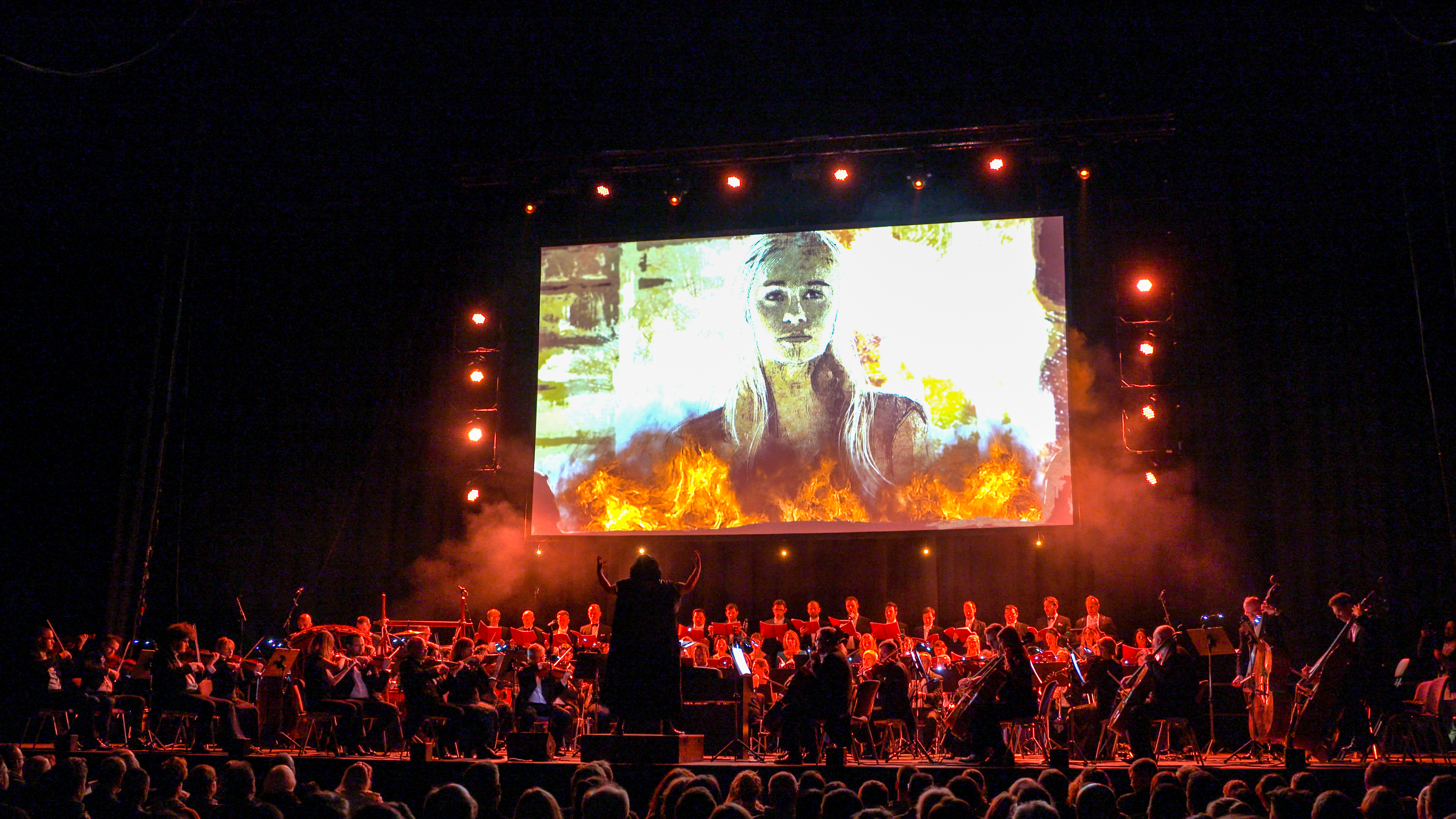 "Stephen Ellery leitet die Cinema Festival Symphonics bei ""Game of Thrones – The Concert Show"" © Highlight Concerts GmbH"