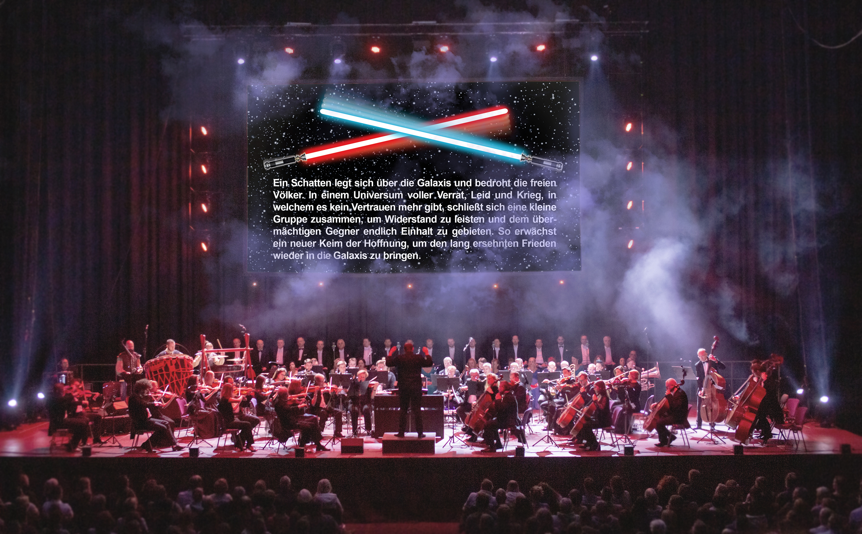 """Mit """"The Music of Star Wars – Live in Concert"""" bringt Highlight Concerts eine Premiere auf die Bühne © Highlight Concerts GmbH"""
