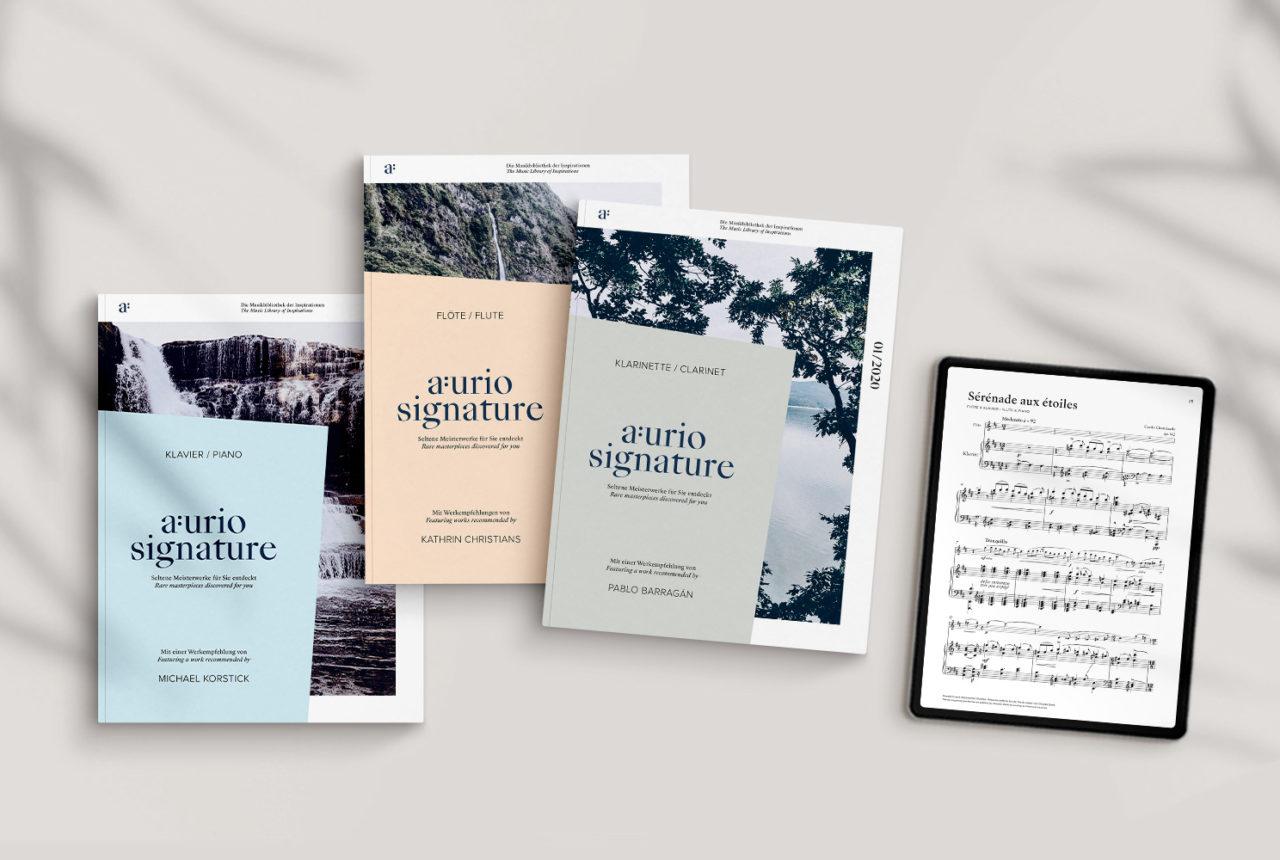 AURIO Musikverlag: Partituren im Abonnement © AURIO Verlag