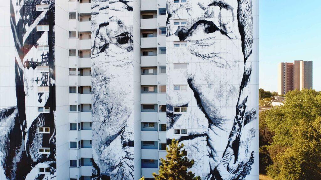 In Mannheim werden graue Mauern zur öffentlichen Galerie: Die Open Urban Art Gallery