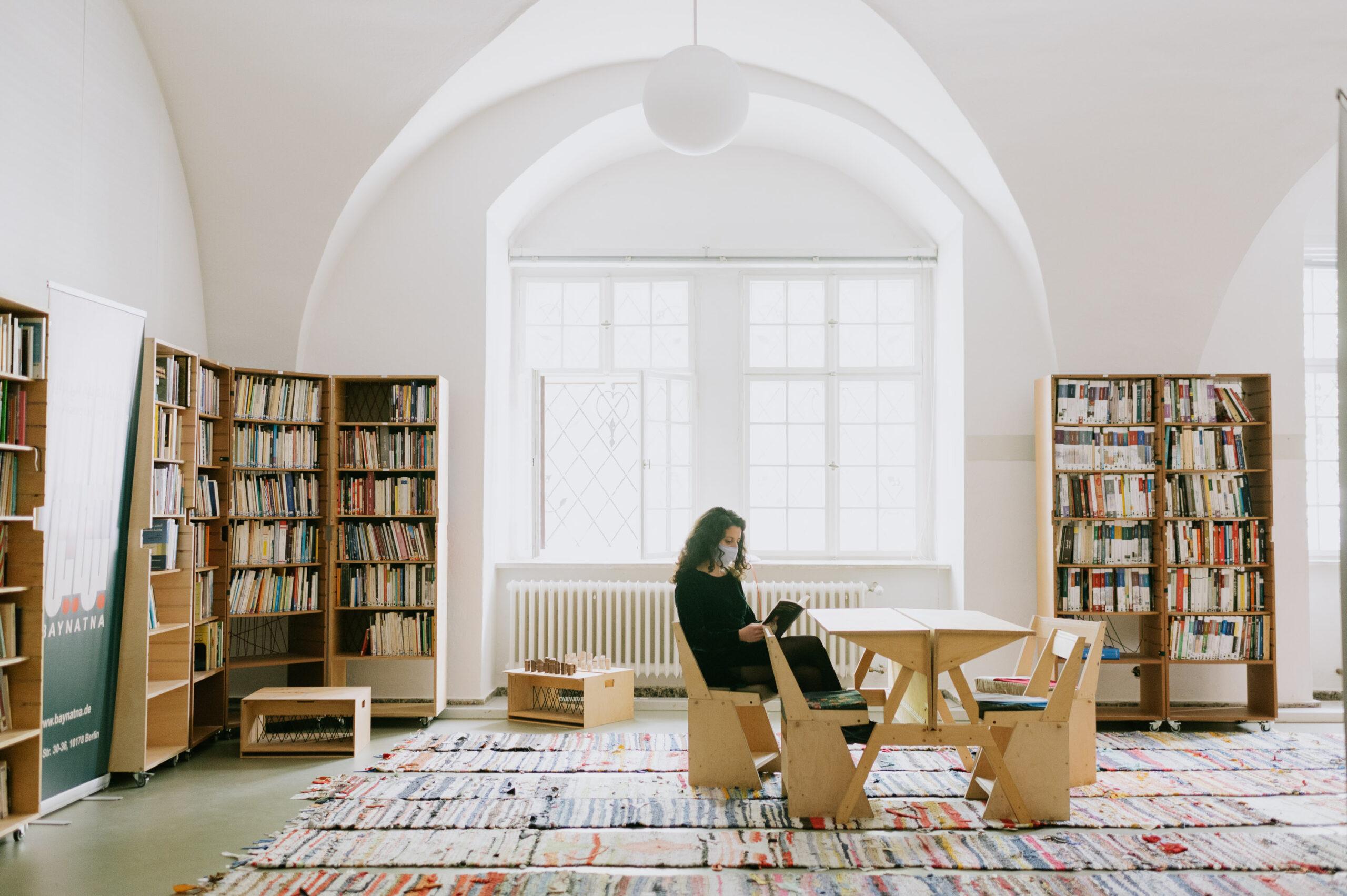 """""""Baynatna & FANN"""" schafft Räume der Begegnung, der Kommunikation und der Inspiration für Künstler, Kulturschaffende und Wissenschaftler © David Frank"""
