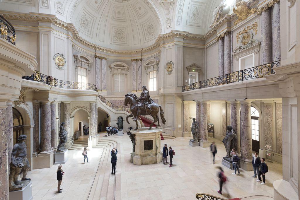 Lässt sich im 360°-Rundgang virtuell begehen: Das Bode-Museum auf der Berliner Museumsinsel © Staatliche Museen zu Berlin/David von Becker