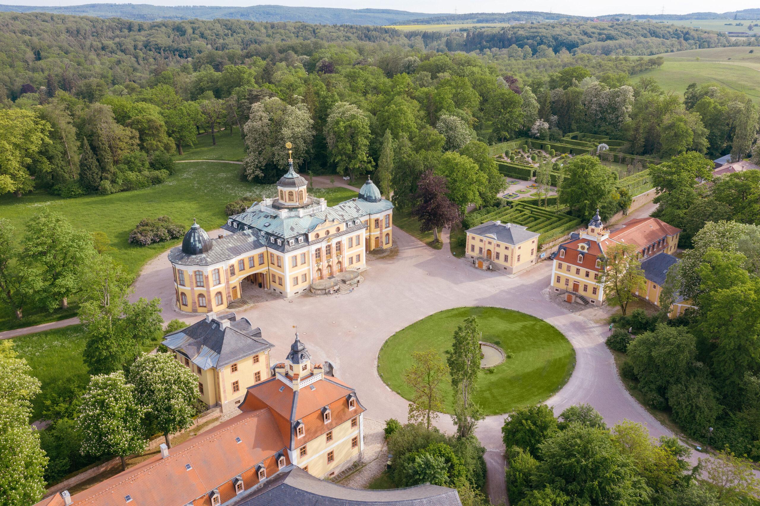 Schloss und Park Belvedere in Weimar © SSFG für die Schatzkammer Thüringen / Marcus Glahn