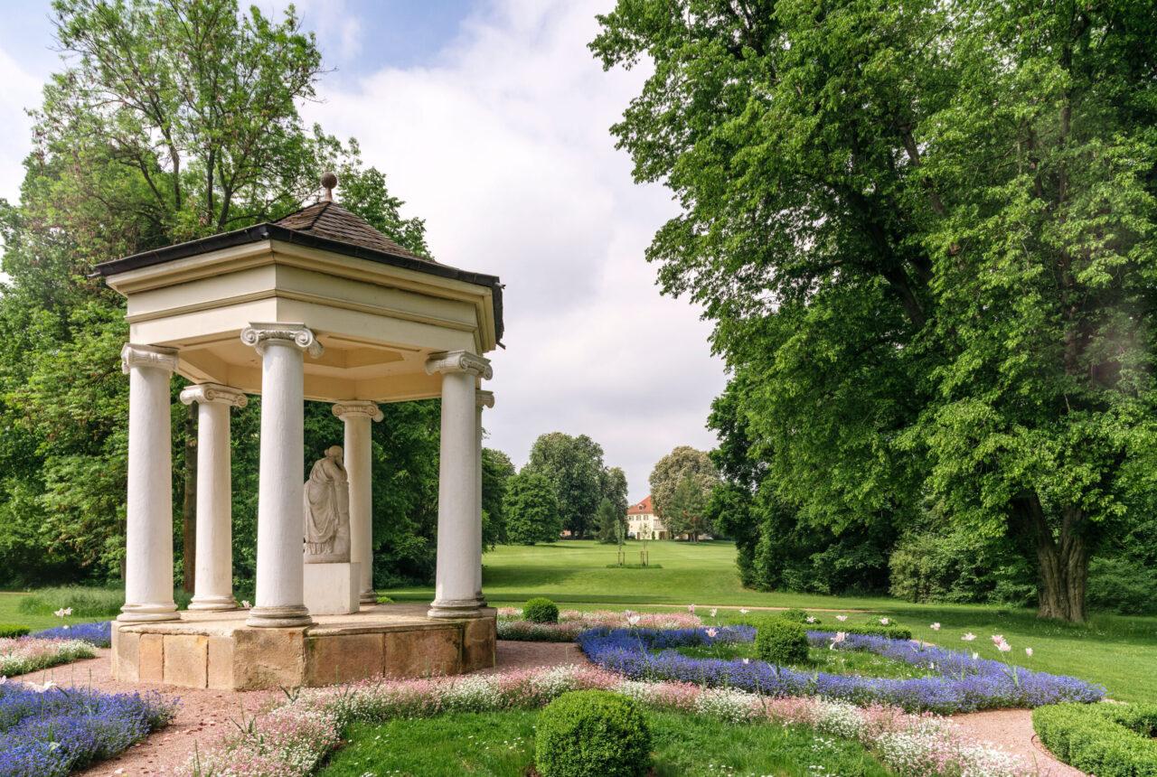 Musentempel im Schlosspark Tiefurt © SSFG für die Schatzkammer Thüringen / Marcus Glahn