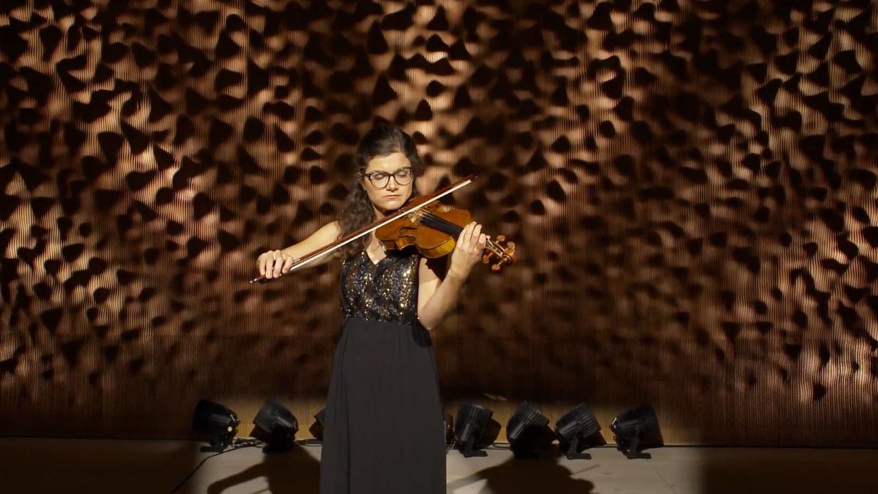 Eszter Kruchió © Elbphilharmonie